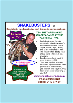 children's reptile birthday party booking Melbourne